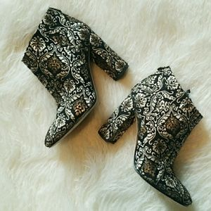 Sam Edelman damask ankle boots